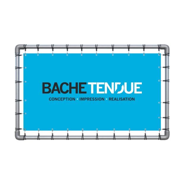 bache tendue impression de b che tendue pour structure. Black Bedroom Furniture Sets. Home Design Ideas