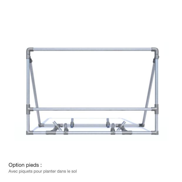 bache tendue panneau publicitaire mobile sur pieds en. Black Bedroom Furniture Sets. Home Design Ideas
