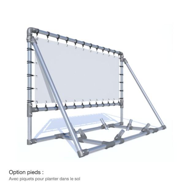 bache tendue panneau publicitaire mobile en aluminium. Black Bedroom Furniture Sets. Home Design Ideas