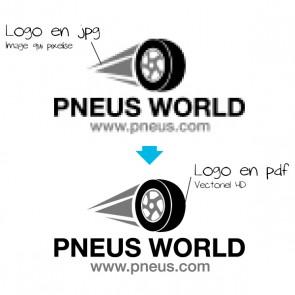 Adaptation de votre logo