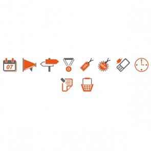 Création de 10 icons