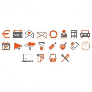 Création de 20 icons