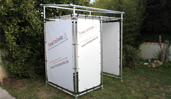 photo booth bache tendue