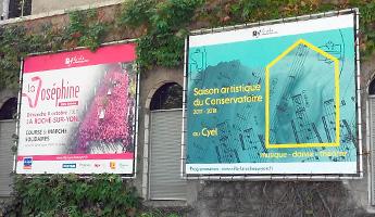 barriere publicitaire mairie